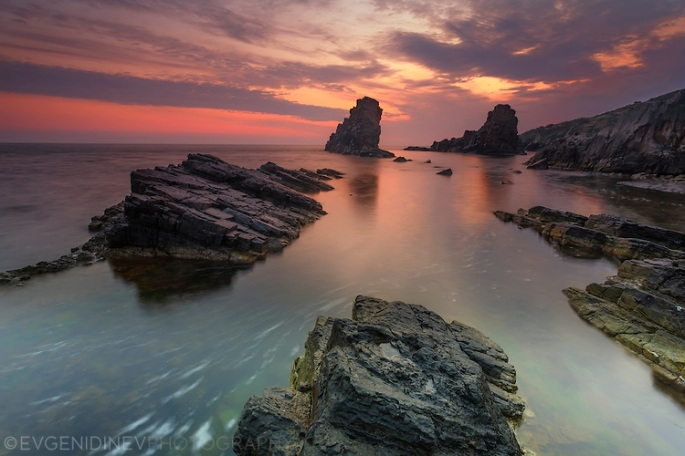 Sinemorets rocks